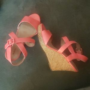 Style & Co Coral Wedges